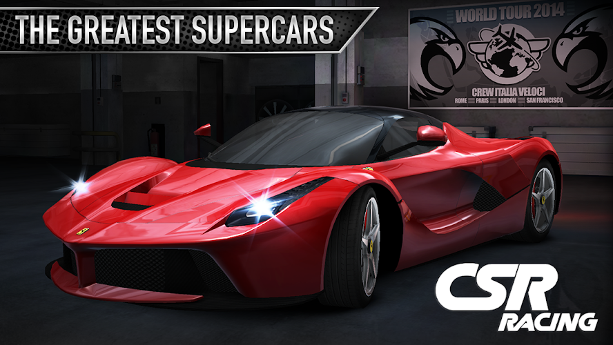CSR Racing Mod Apk v2.7.2 (Unlimited Money)