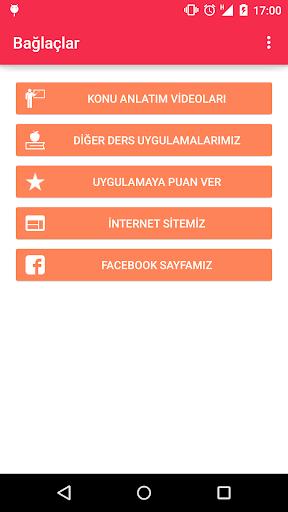 Bağlaçlar Türkçe LYS KPSS YGS
