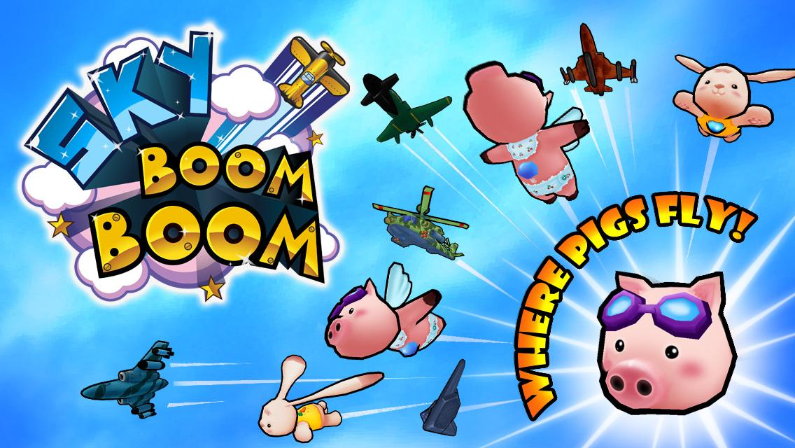 Sky Boom Boom - screenshot