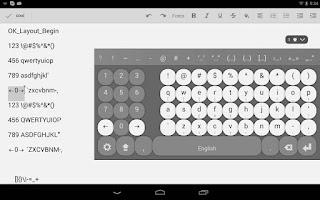 Screenshot of Multiling O Keyboard + emoji
