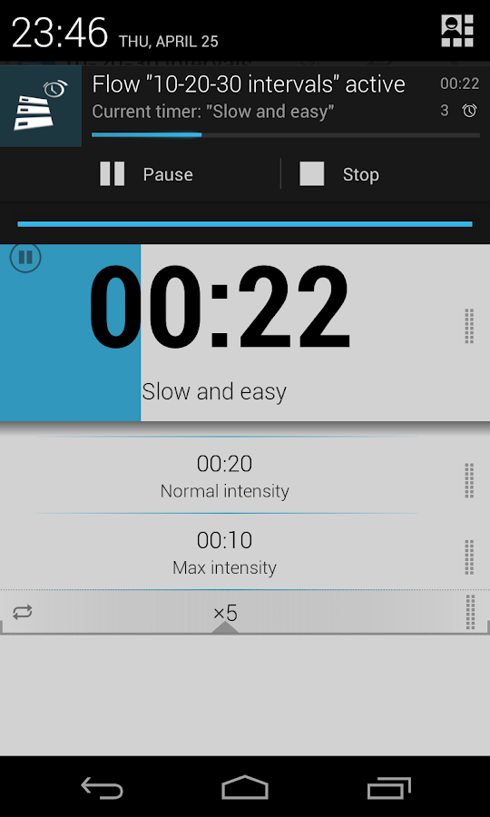 Timer Flow - screenshot