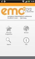 Screenshot of EMC2012