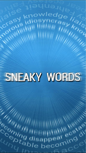 Sneaky Words