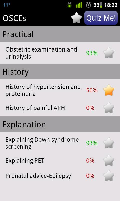 Obstetrics and Gynaecology Aid- screenshot