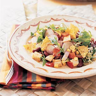 Chopped Barbecued Chicken Salad.