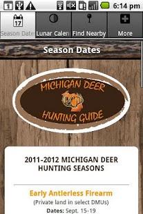 Michigan Deer Hunting Guide- screenshot thumbnail