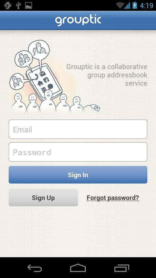 Group Contact w Member Notice- screenshot
