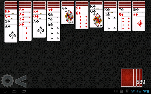 Spider Solitaire HD 2 - screenshot thumbnail