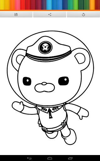 Coloring The Octonauts