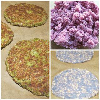 Cauliflower Pizza Crust 3 Ways - Vegan, Vegetarian and Gluten Free