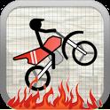 Stick Stunt Biker icon