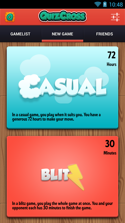 QuizCross- screenshot
