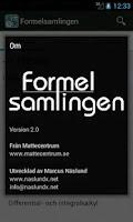 Screenshot of Formelsamlingen.se