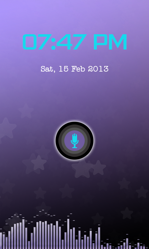 Voice Lock- screenshot