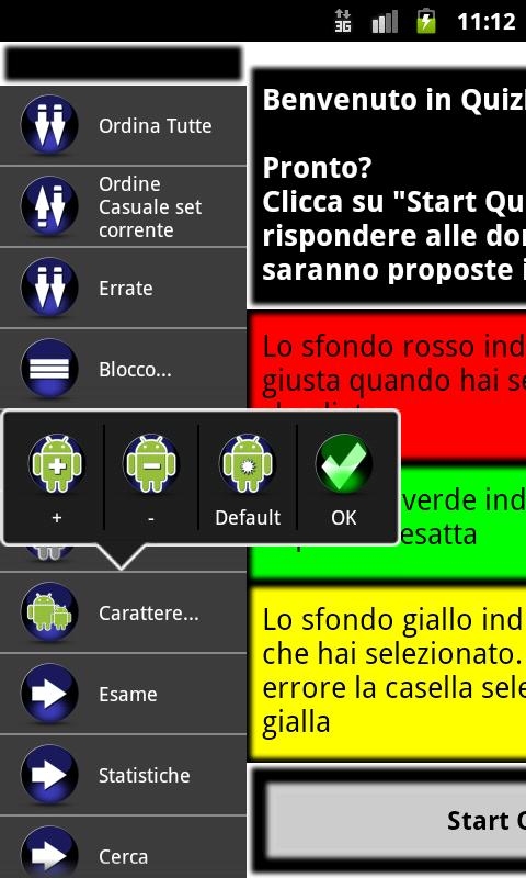 QuizDroid - CONCORSI - screenshot