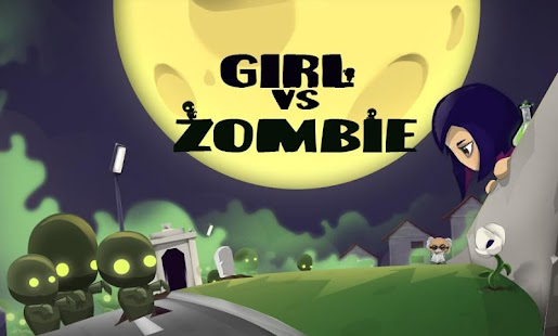 Girl vs Zombie Run Game- screenshot thumbnail