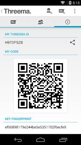 android Threema Screenshot 7