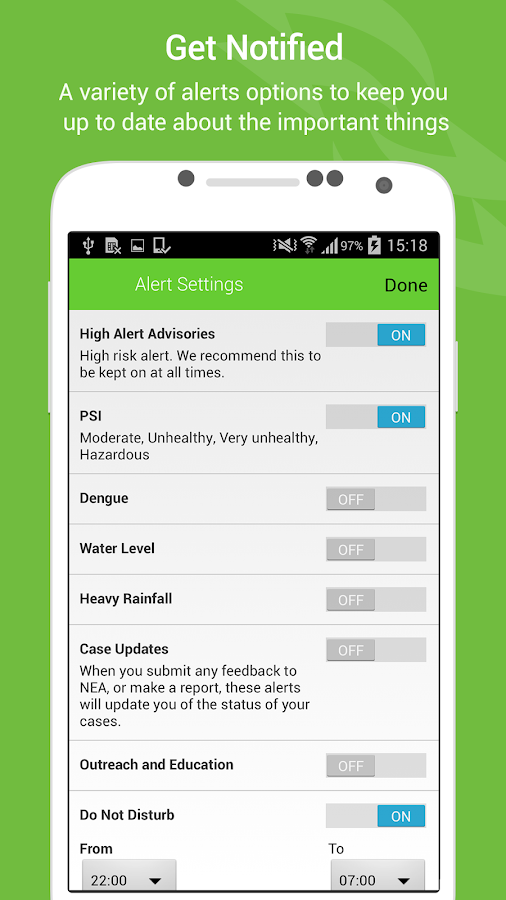 myENV- screenshot