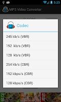 screenshot of MP3 Video Converter