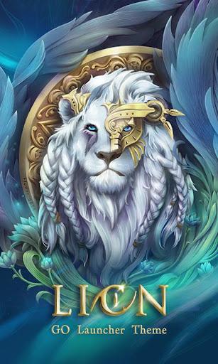Lion GO Launcher Theme