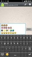 Screenshot of New Emoji Keyboard