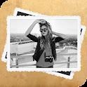 Черно-белая фотография Рамки icon
