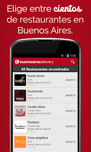 Buenos Aires Delivery- screenshot thumbnail