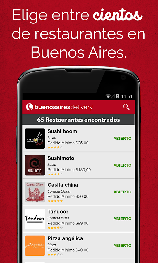 Buenos Aires Delivery- screenshot