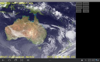 Screenshot of Meteo Sat Viewer - free