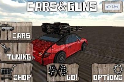 Cars And Guns 3D FREE Screenshot 8