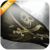 Pirate Flag Live Wallpaper Try 3.1.1