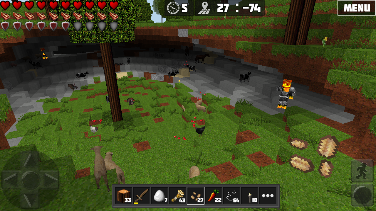WorldCraft : 3D Build & Craft- screenshot