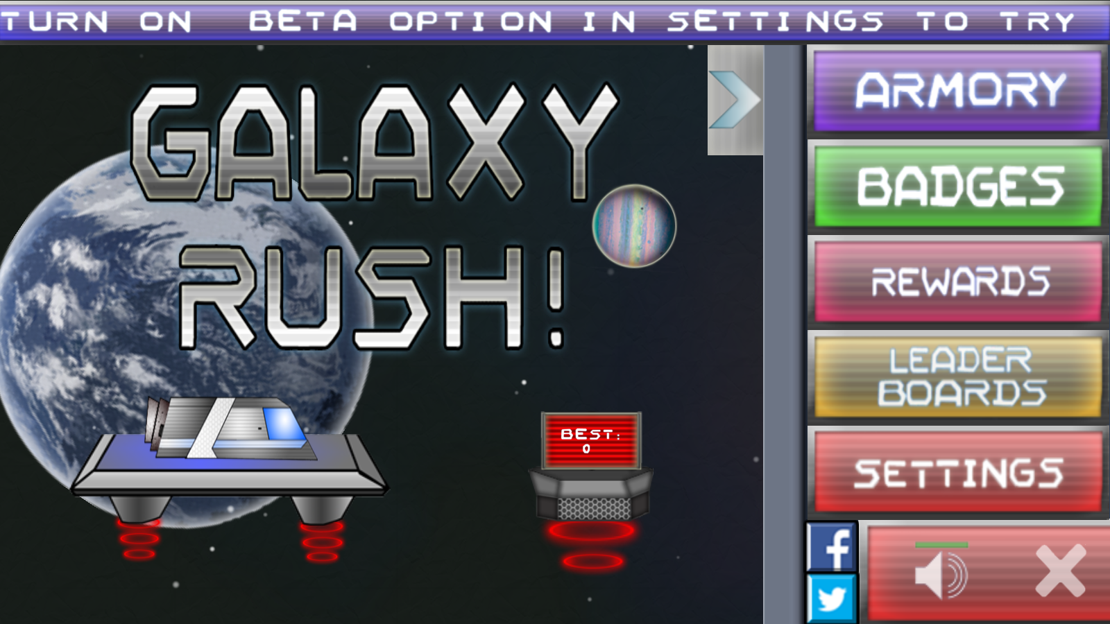 Galaxy Rush! (Free)- screenshot