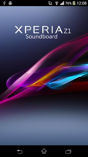 Xperia Z1 Soundboard