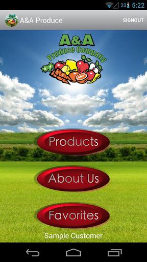 A A Produce Company