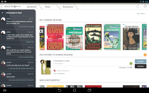 Mantano Ebook Reader Premium - screenshot thumbnail