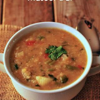 Masoor Dal (Gluten-Free, Vegan).