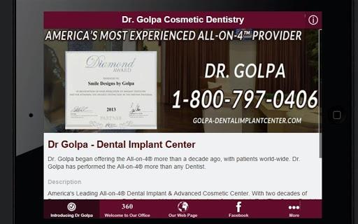 【免費醫療App】Dr Golpa Cosmetic Dentistry-APP點子