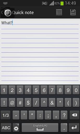 免費個人化App|One Touch Notepad|阿達玩APP