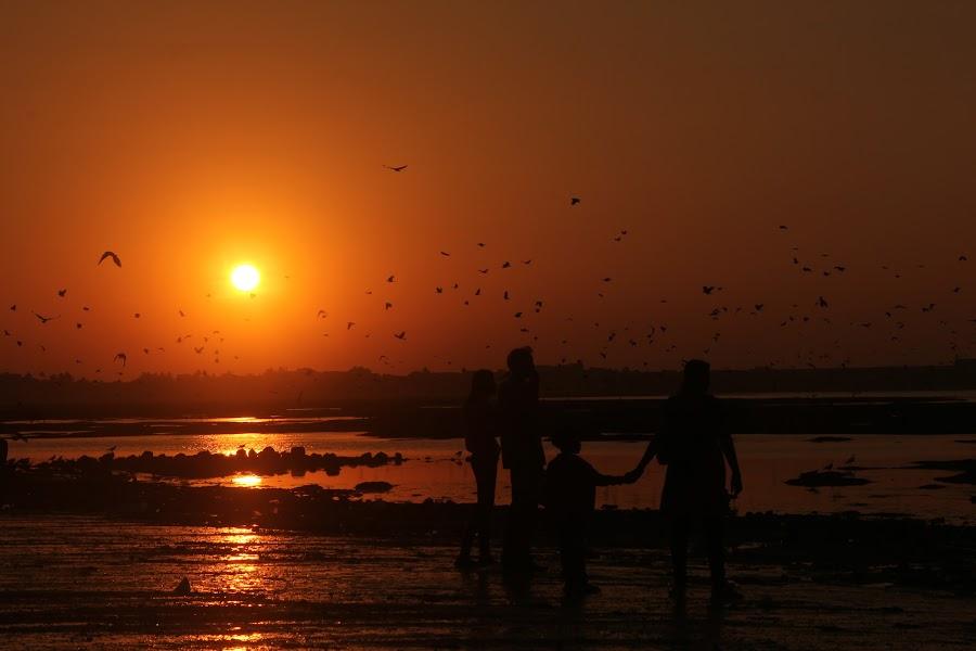 sunset by Kiran Mungekar - People Street & Candids