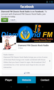 Diamond FM Classic Rock Radio - screenshot thumbnail