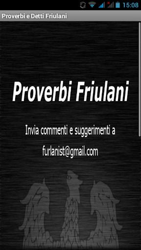 Proverbi Friulani