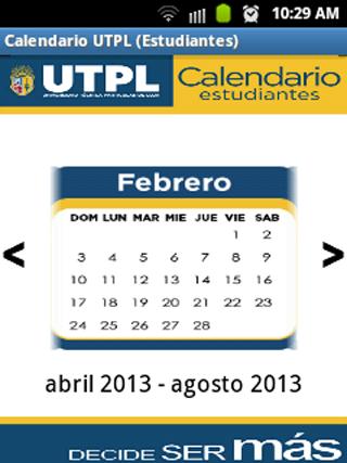 【免費通訊App】Calendario UTPL Estudiantes-APP點子
