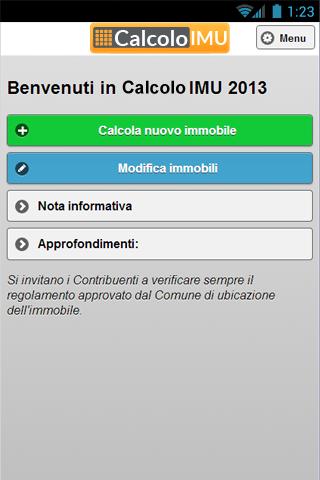 Calcolo IMU 2013