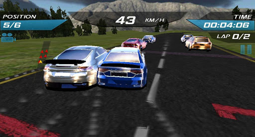 High Speed GT Asphalt Race