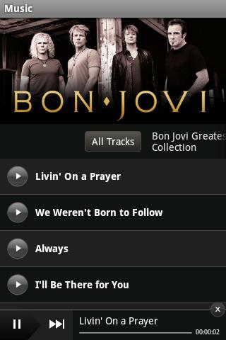 Bon Jovi - screenshot