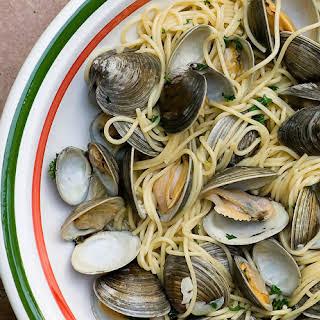 Spaghetti with Fresh Clams.