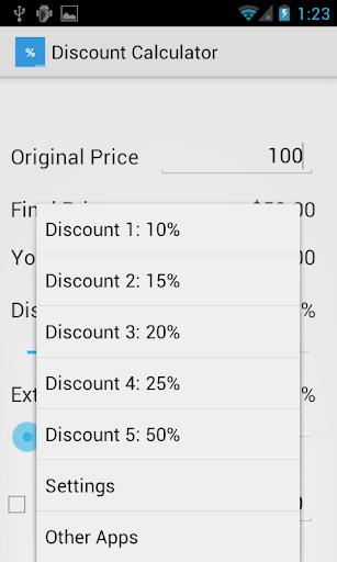Discount Calculator Donate