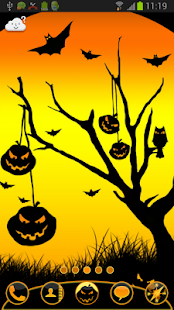 GO Launcher EX Theme Halloween - screenshot thumbnail