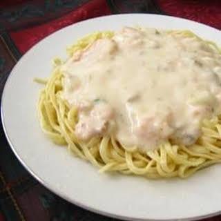 Easy Seafood Fettucini.